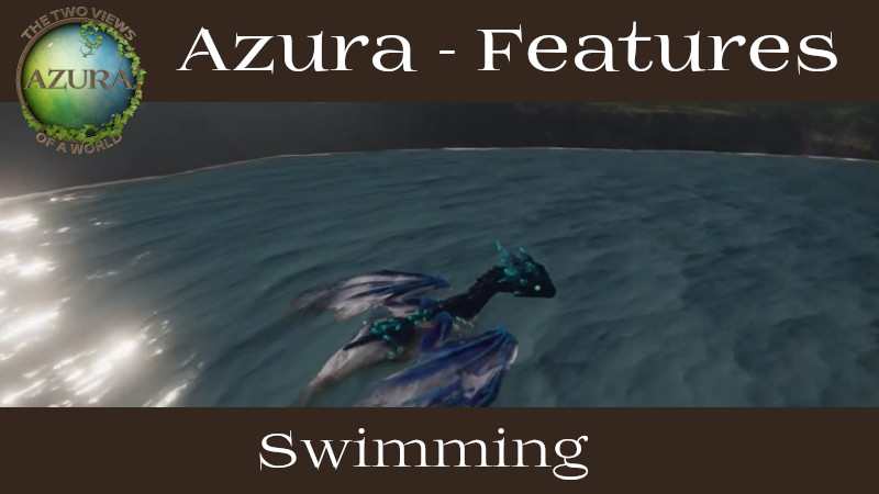 Azura swimming